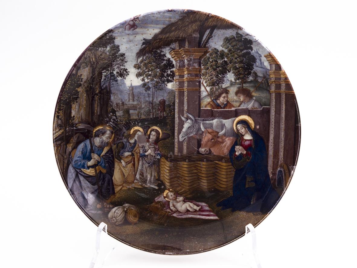Piatto Decorativo – Nascita di Cristo