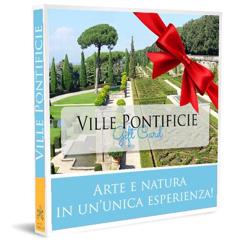 Gift Card Giardini delle Ville Pontificie di Castel Gandolfo