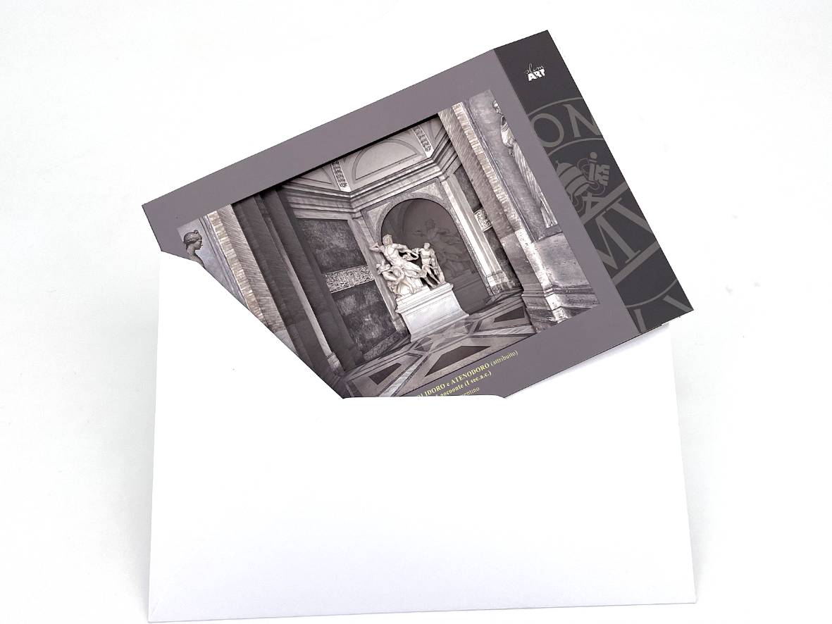 Cartolina in 3D - Laocoonte