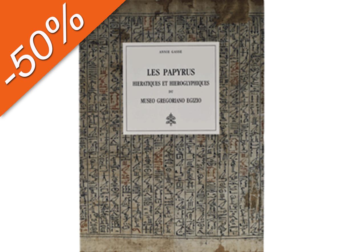 Les Papyrus hieratiques et hieroglyphiques du Museo Gregoriano Egizio