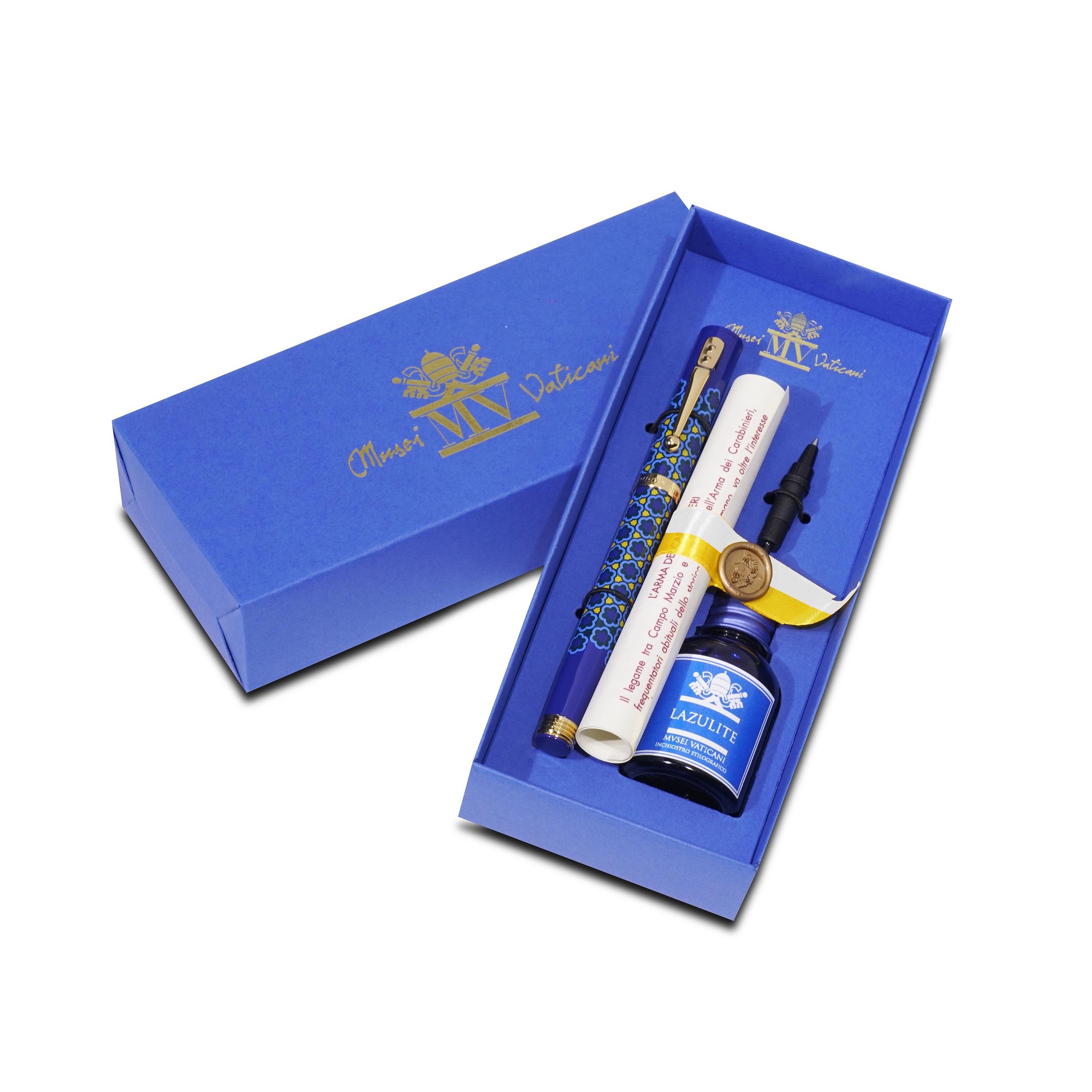 Penna Stilografica Dulcis Colorum – Lazulite