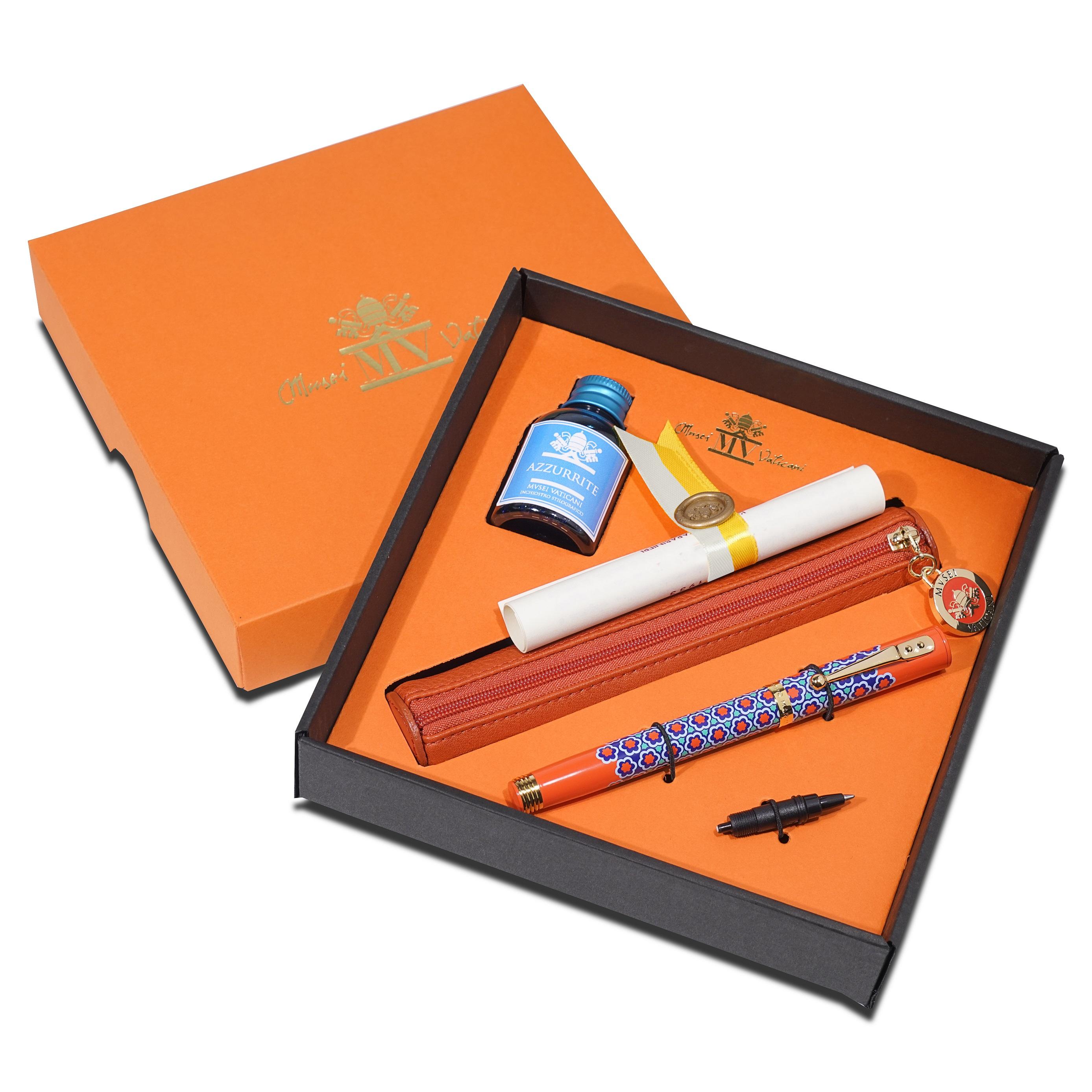 Penna Stilografica Dulcis Colorum – Minio Realgar