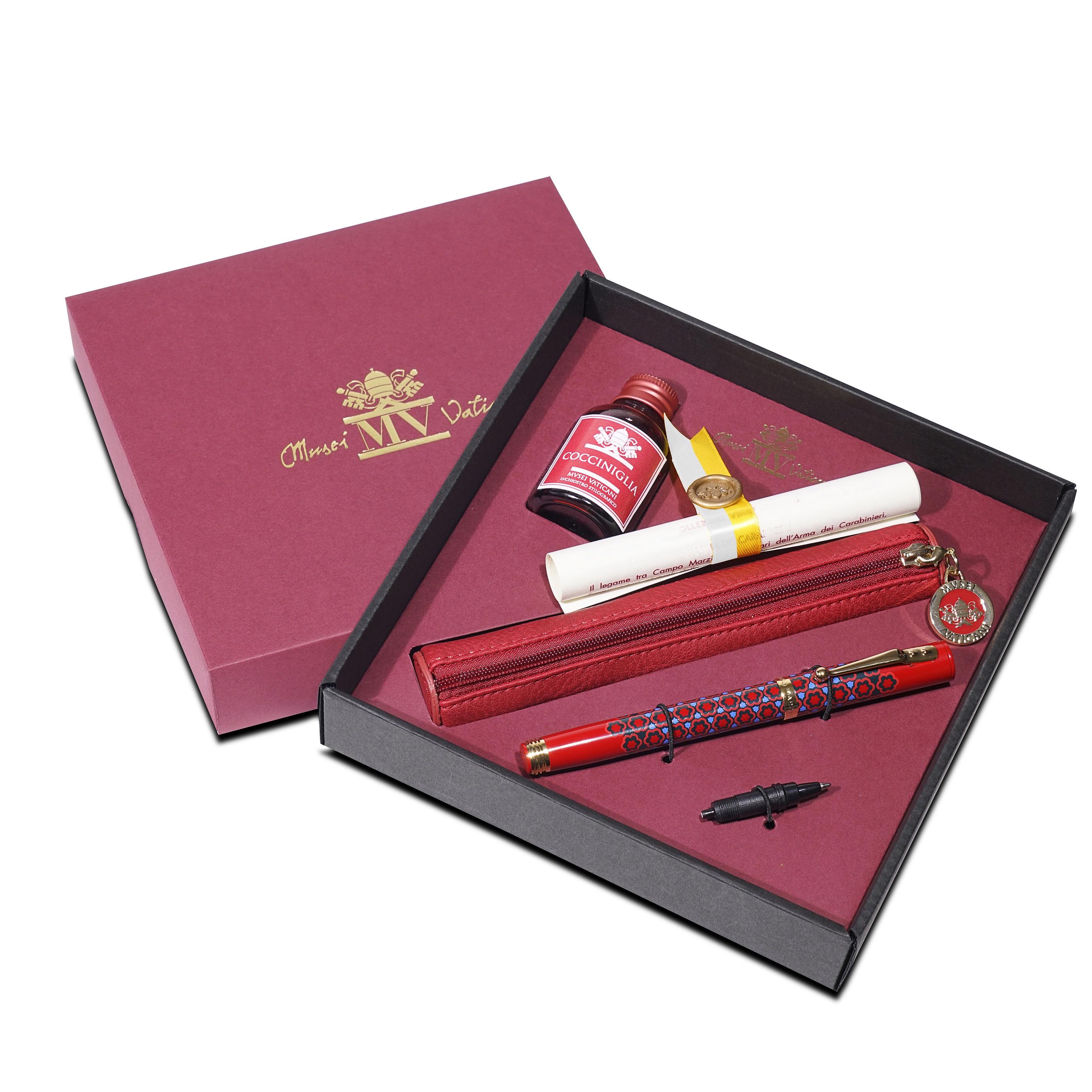 Penna Stilografica Dulcis Colorum – Cocciniglia