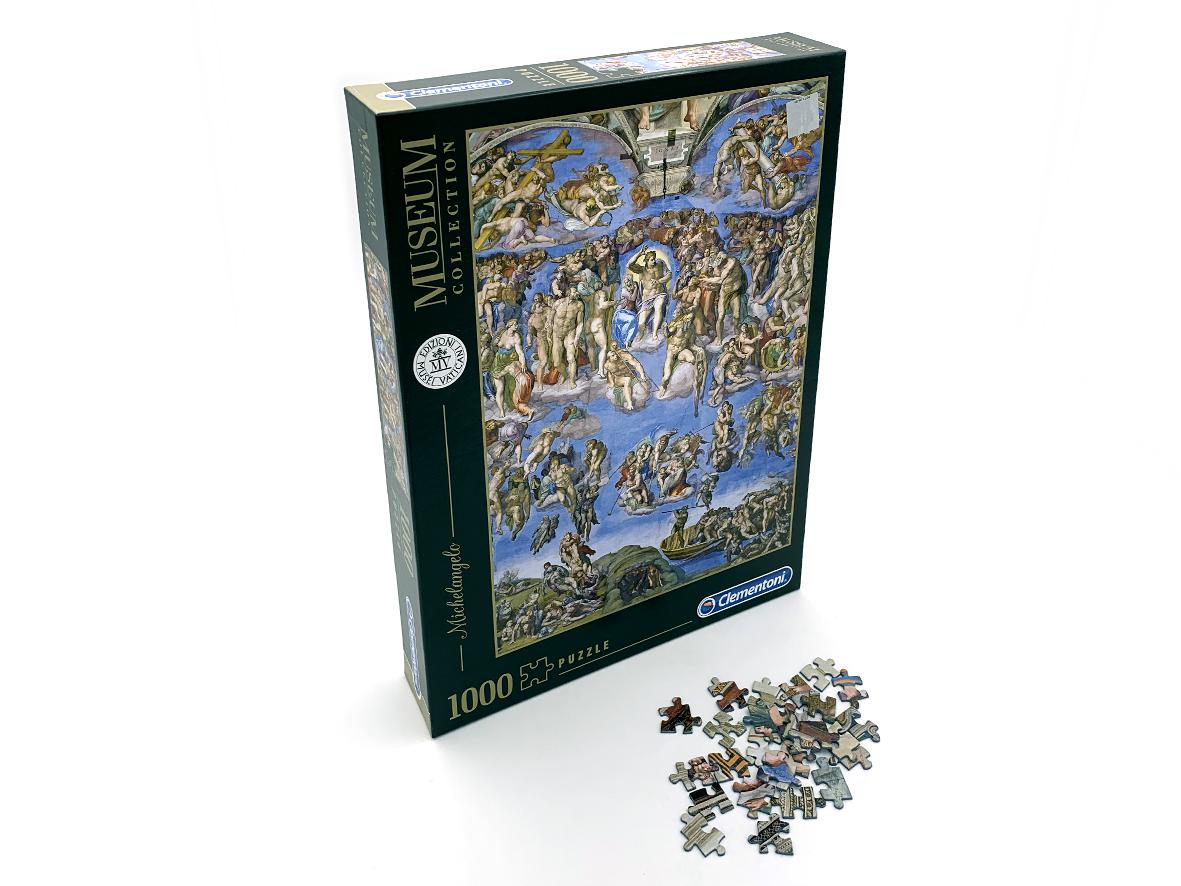 Puzzle 1000 Pezzi – Giudizio Universale