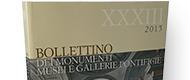 Bollettino dei Monumenti Musei e Gallerie Pontificie - XXXIII, 2015