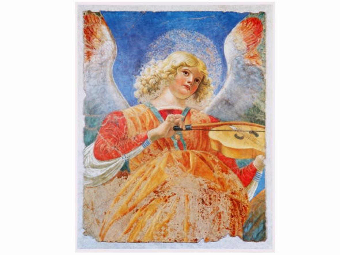 Poster Angelo con Viola