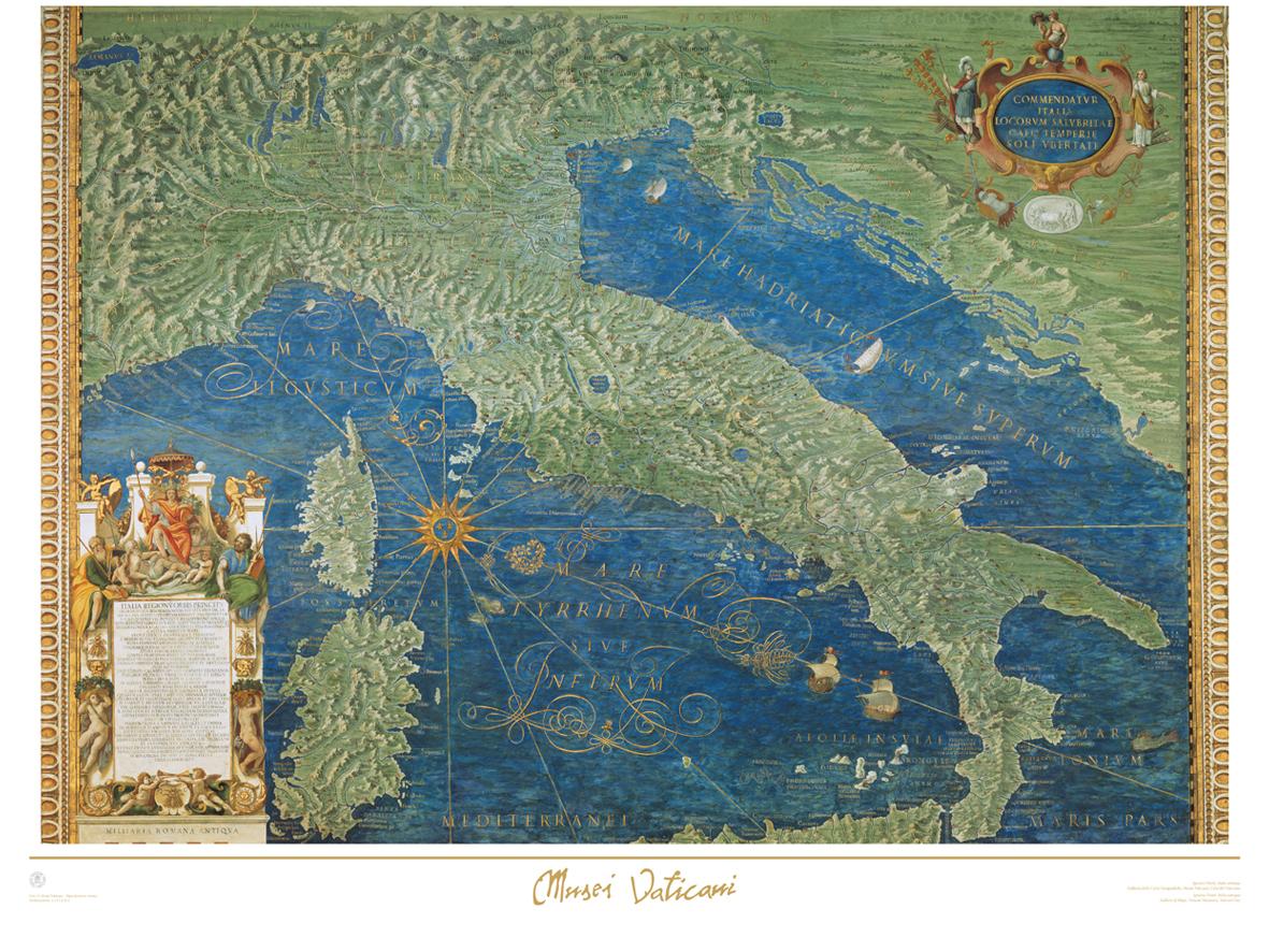 Poster Italia Antica