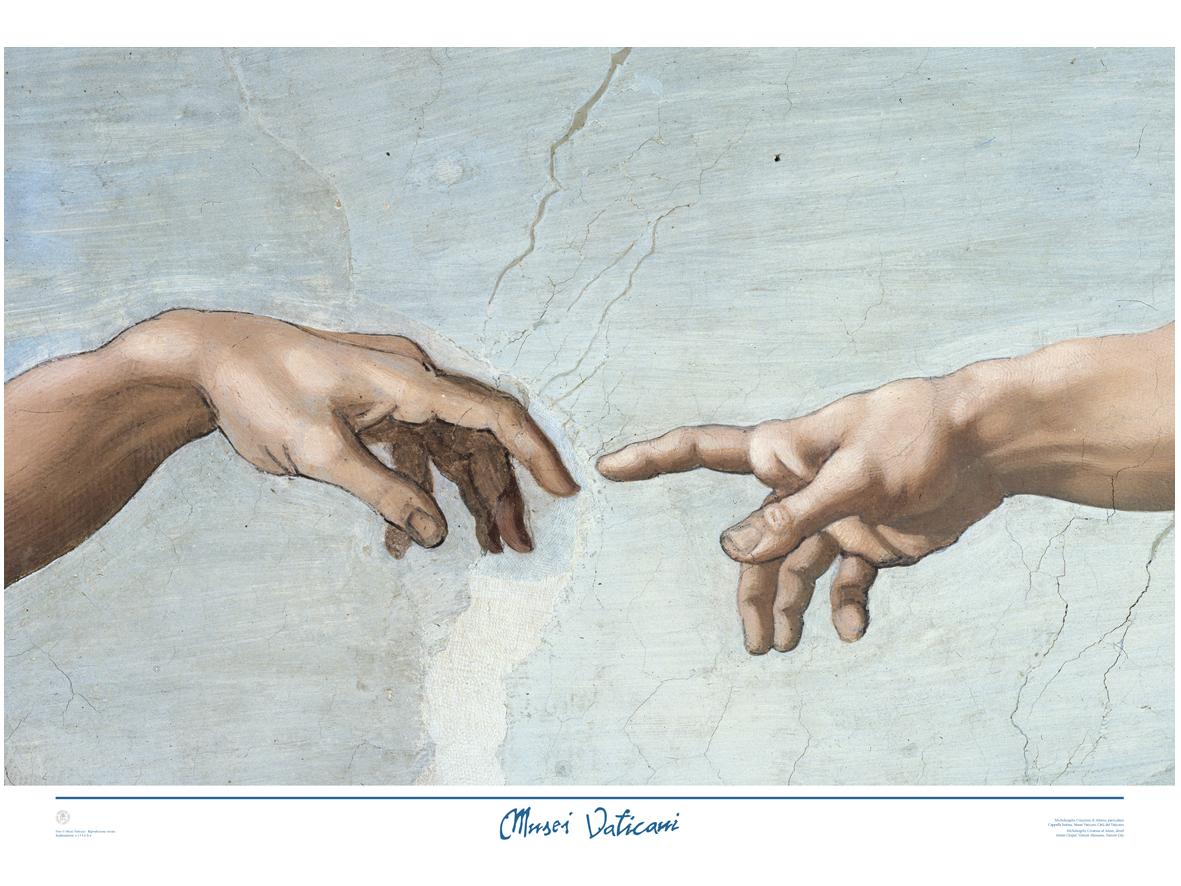 Poster Le mani della Creazione