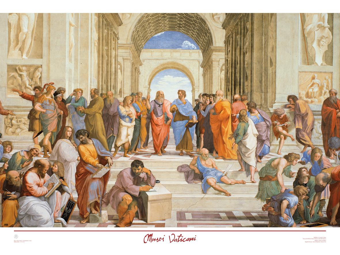 Poster Scuola di Atene