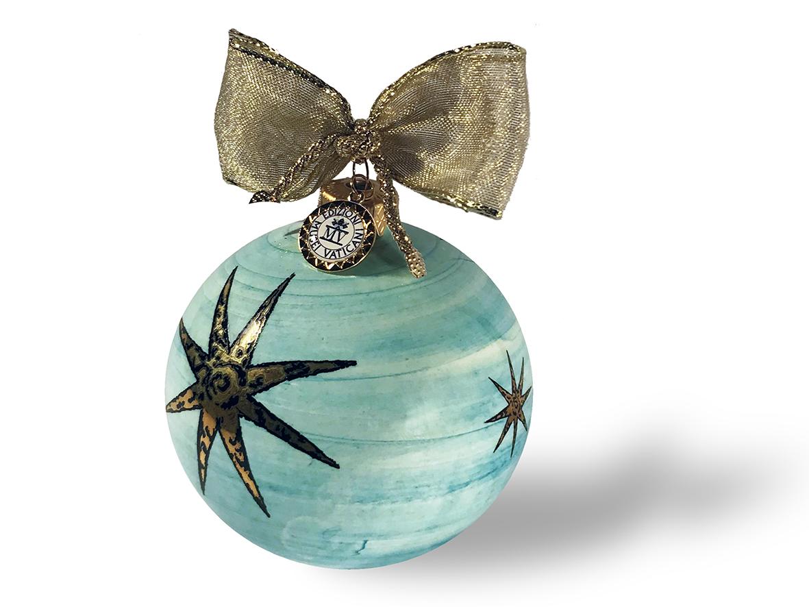 Decorazione di Natale – Palla grande con decoro Stella