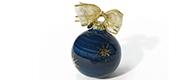 Decorazione di Natale – Palla piccola con decoro a stelle