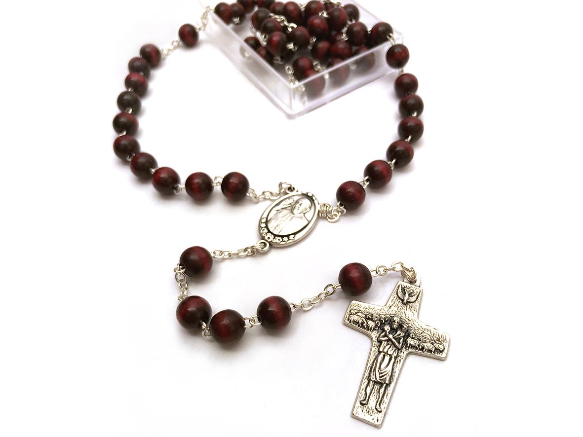 Rosario in legno - Papa Francesco