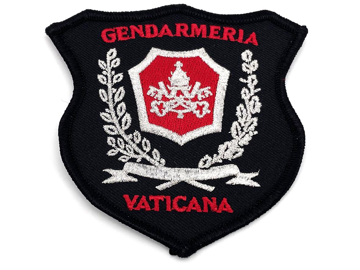 Applicazione termoadesiva della Gendarmeria Vaticana