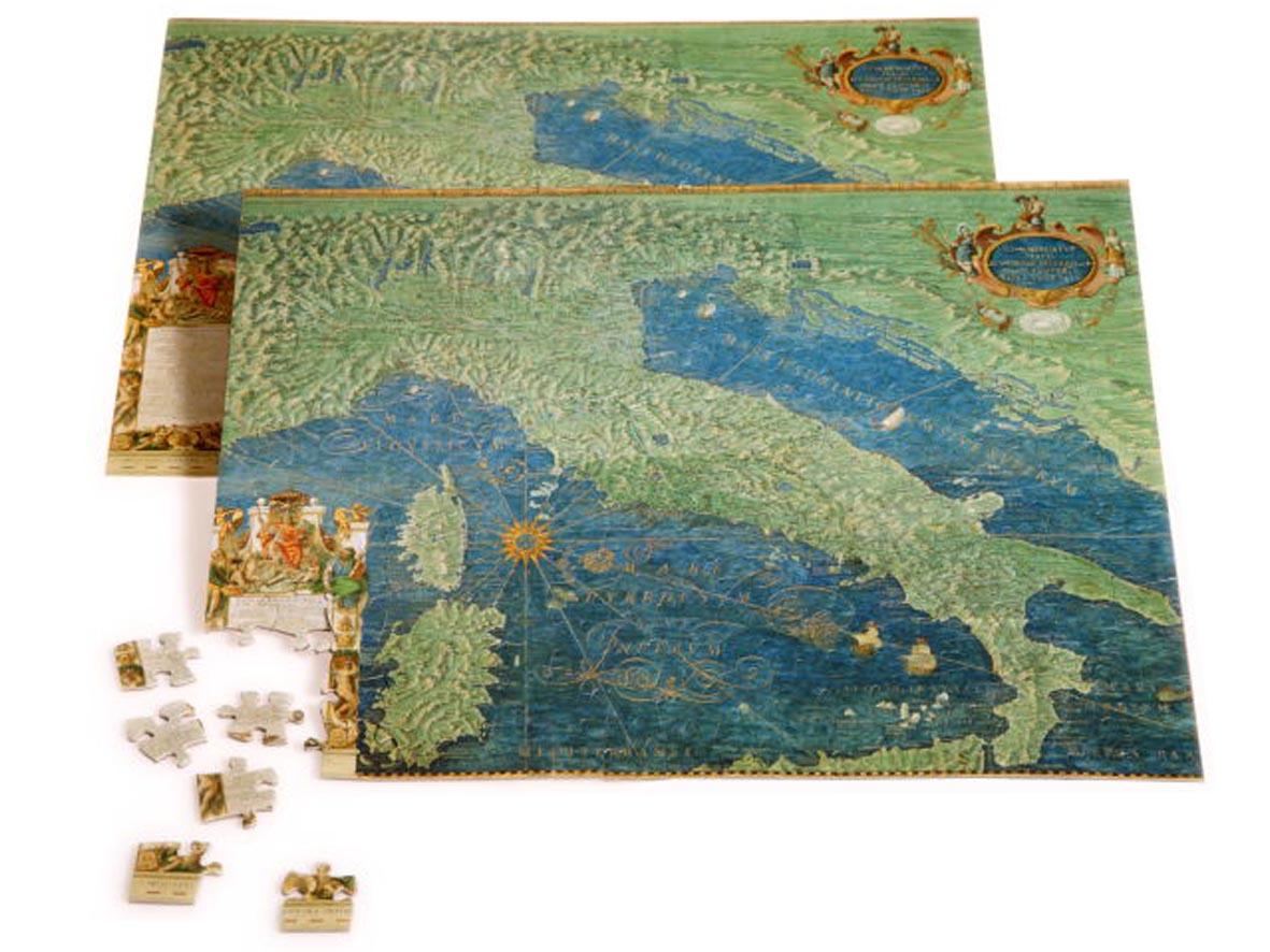 Puzzle 221 Pezzi – Carte Geografiche