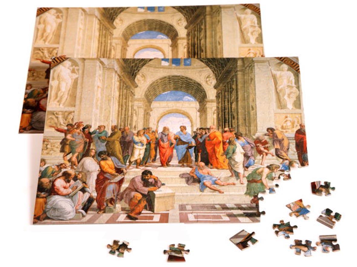 Puzzle Opera Sillabe Puzzle 221 Pezzi Scuola Di