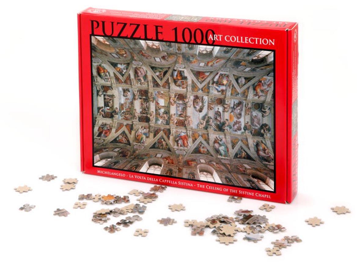 Puzzle 1000 Pezzi – Volta Cappella Sistina