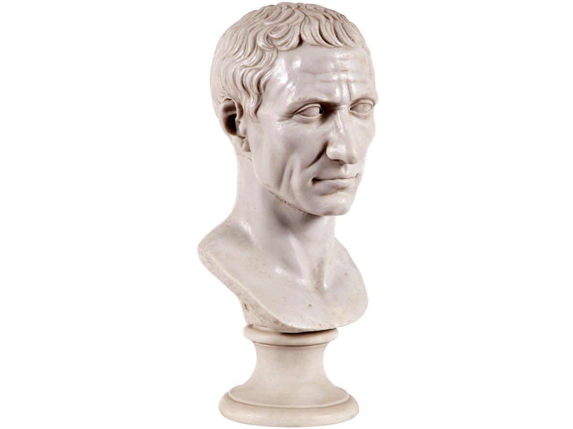 Busto di Caio Giulio Cesare (Riproduzione)