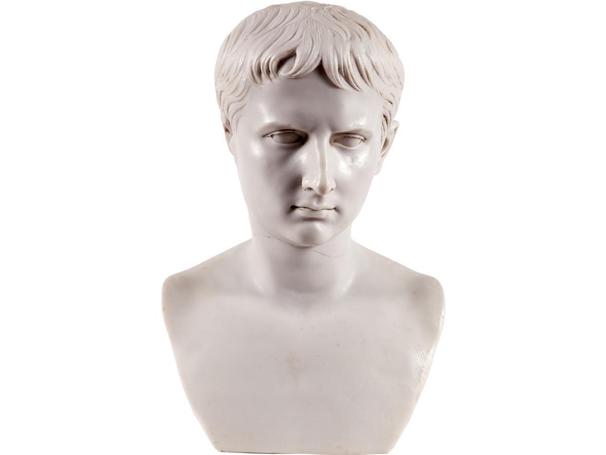 Busto di Lucio Cesare (Riproduzione)