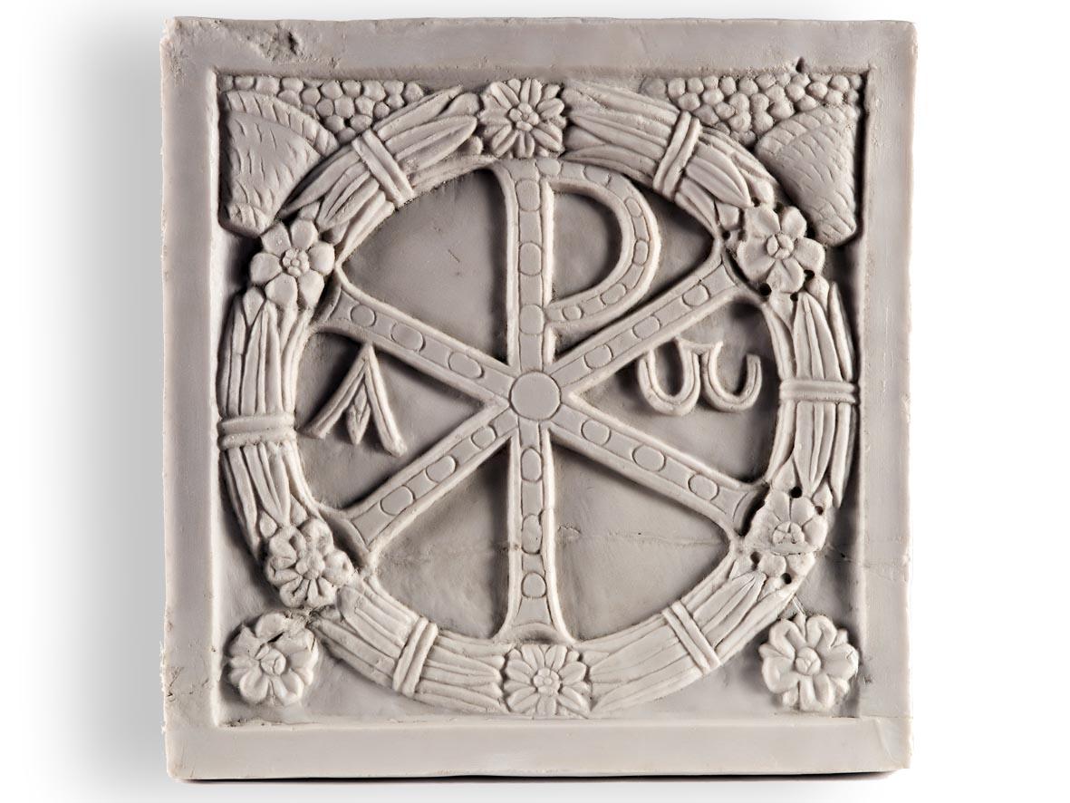 Riproduzione Monogramma Costantiniano: Cristogramma