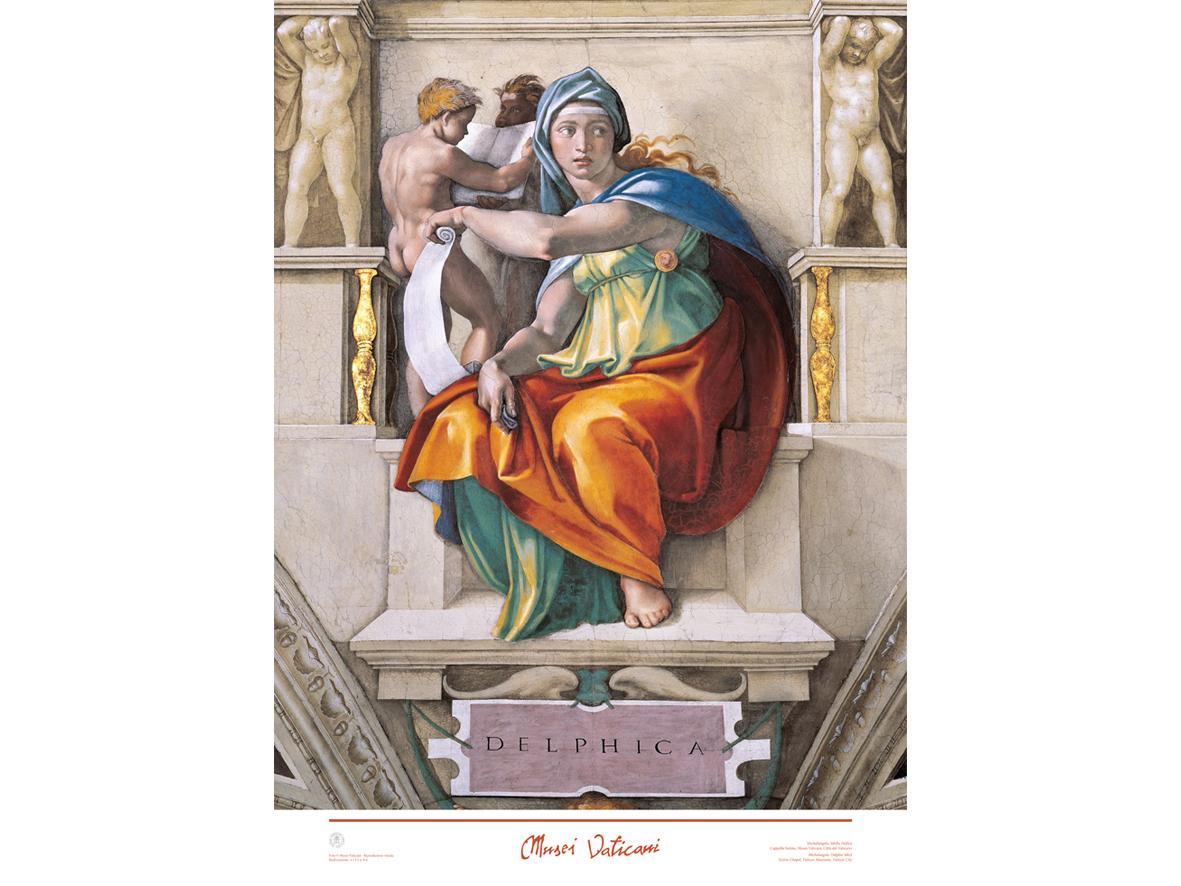 Poster Sibilla Delfica