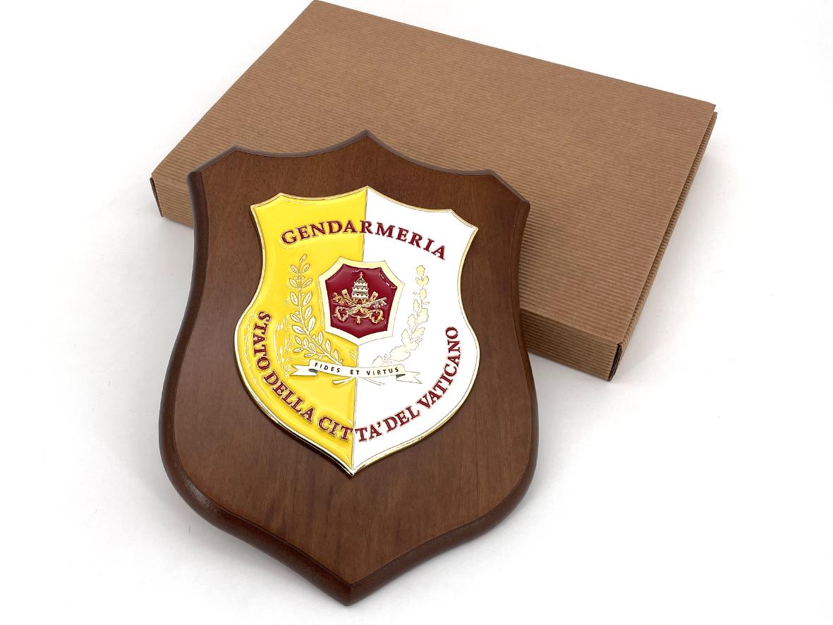 Crest della Gendarmeria Vaticana