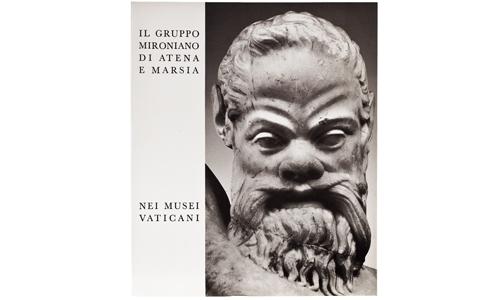 Il gruppo mironiano di Atena e Marsia nei Musei Vaticani