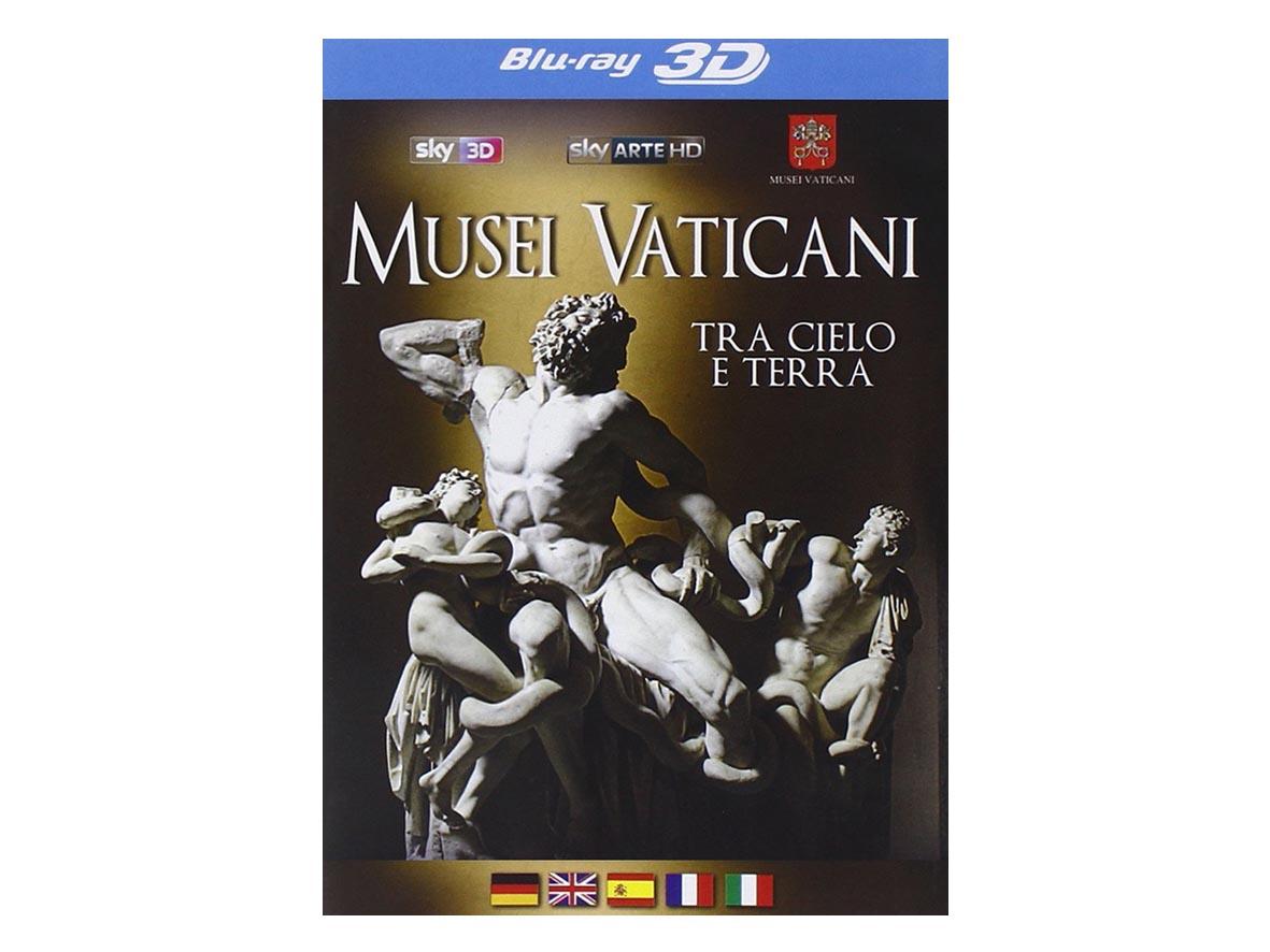 DVD MUSEI VATICANI 3D-BLU RAY tra Cielo e Terra