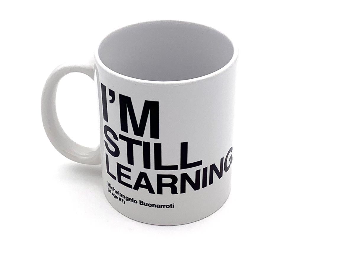 Tazza Mug Citazioni Michelangelo - Learning